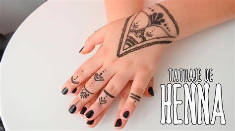 hazte tu propio tatuaje de henna maffy youtube