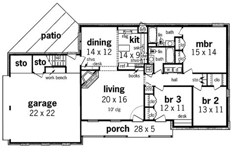 simple 1 floor house plans simple one story house plans floor plan enlarge house