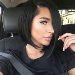 how to cut black hair in a bob 15 asymmetrical bob haircuts short hairstyles 2016