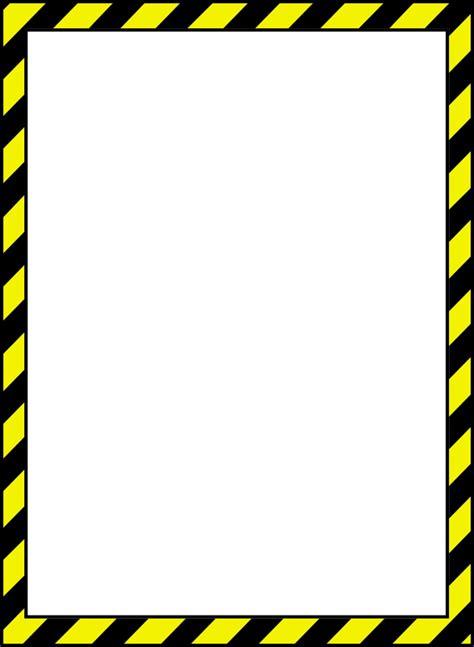 clipart caution border 2