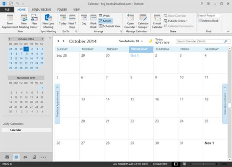Where Is Calendar In Outlook 2013 Beginner How To Create Manage And Calendars In