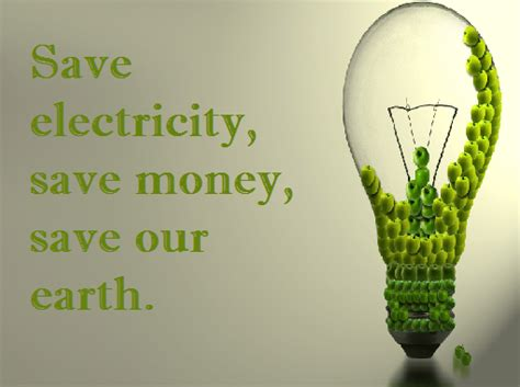 how to save electricity and about saving electricity