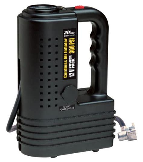 bonaire 300 psi cordless air compressor 12 volt power pack src50 inflator tire ebay