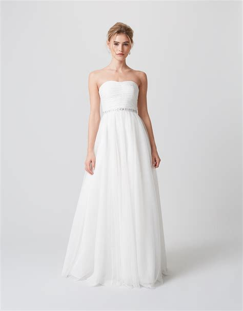 The Wedding Dress by Monsoon Klara Embellished Bridal Dress Ivory