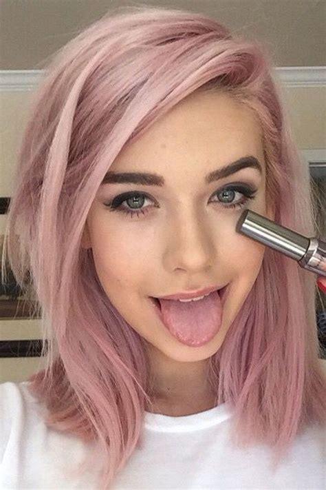 welche directions fuer rosa haare auf braunem haar farbe