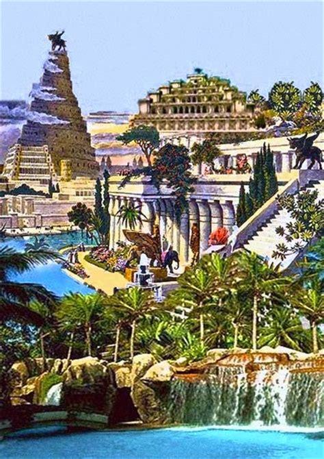 giardini pensili di babilonia scuola primaria amici in allegria le sette meraviglie mondo antico