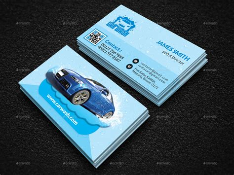 carwash business cards template car wash business card by creative touch graphicriver