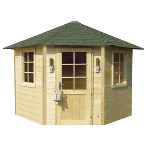 cabane de jardin en bois leroy merlin abri de jardin en bois 5 45 m 178 233 p 28 mm leroy merlin