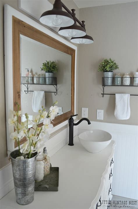 bathroom fixtures ta farmhouse master bathroom reveal little vintage nest