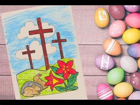jesus christ cross coloring pages  kids easter