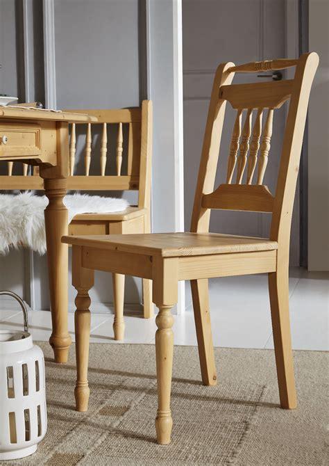 stuhl massiv stuhl fichte massiv antik gewachst sinada42