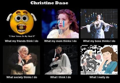 Phantom Of The Opera Meme - christine daae joke meme by webbererikphan on deviantart