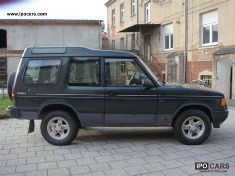 1997 land rover discovery off road 1997 land rover discovery tdi trophy car photo and specs