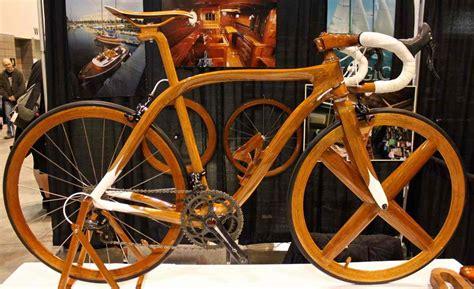 Handmade Bike Wheels - nahbs 2013 sanomagic s jaw dropping wooden bicycles
