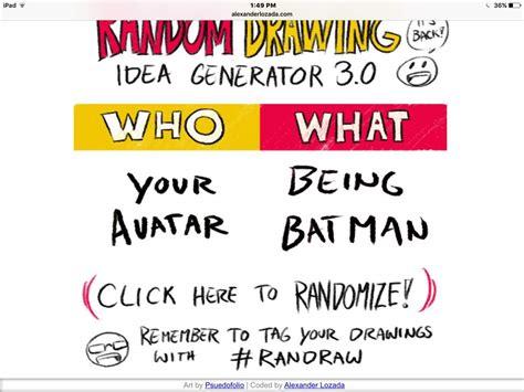 drawing ideas generator random drawing idea generator time undertale amino