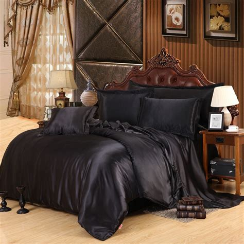 Aliexpress Com Buy Satin Silk Bedding Set Queen Size Buy A Bed Set