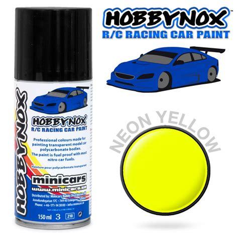 Sprei Cars Racing neon yellow r c racing car spray paint 150 ml