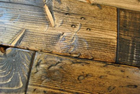 What To Do With Leftover Tile by How To Distress Wood Video Amp Photos Young House Love