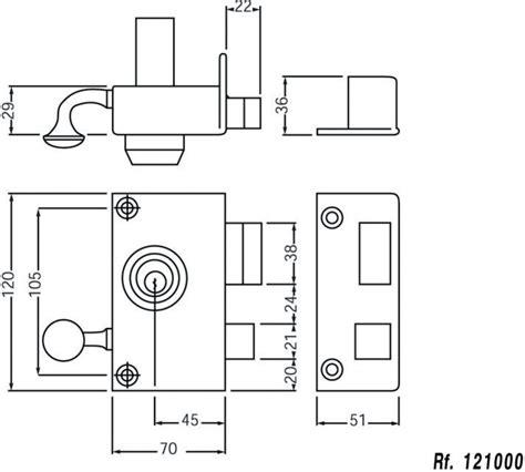 Cylindre De Porte 5329 by Cogeferm
