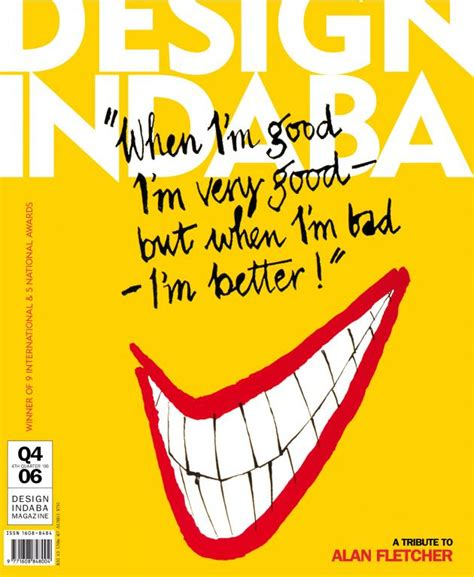 design indaba magazine design indaba magazine pays tribute to alan fletcher