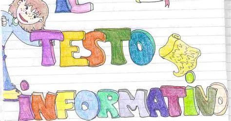 il testo informativo scuola primaria il testo informativo per la scuola primaria