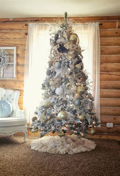 shabby chic christmas tree christmas pinterest trees christmas trees and shabby