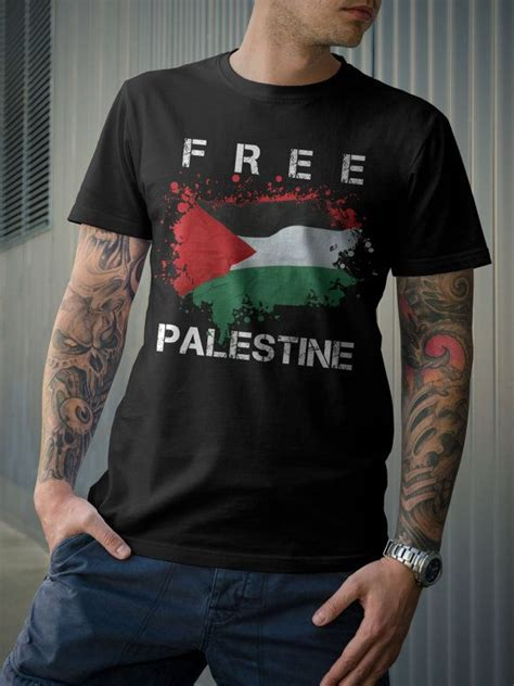 Tshirt Kaos Freedom For Gaza free palestine tshirt save gaza support freedom by