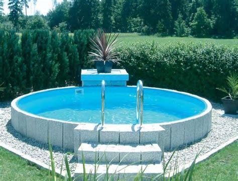 swimmingpool selber bauen pool selber bauenschwimmbecken