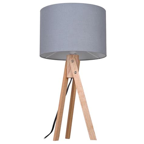 modern desk light modern tripod table desk floor l wood wooden stand home