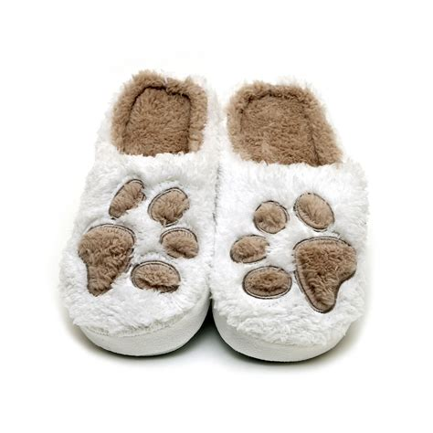 paw slipper our paw print slippers are a must own for any true