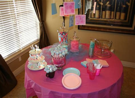 baby shower table decorations baby shower table decorations ideas for girls house