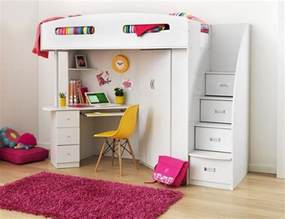 Bunk Bed With Table Underneath Bunk Bed With Desk Underneath And Storage Stairs Home