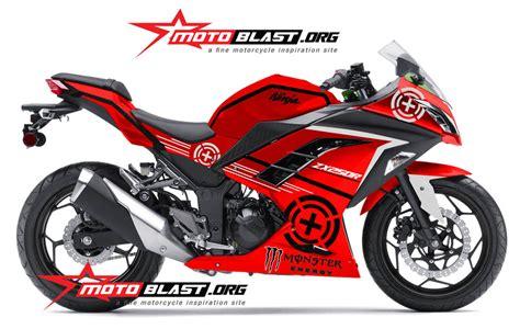 Decal Striping Kawasaki 250 Fi 1 250 target1 motoblast