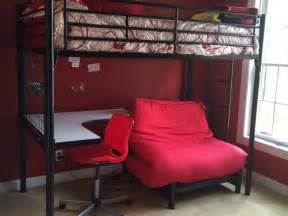 Loft Bed With Desk And Futon Bunk Loft Bed With Desk Futon Chair Futon Mattress And Desk Chair Geneva Il Patch