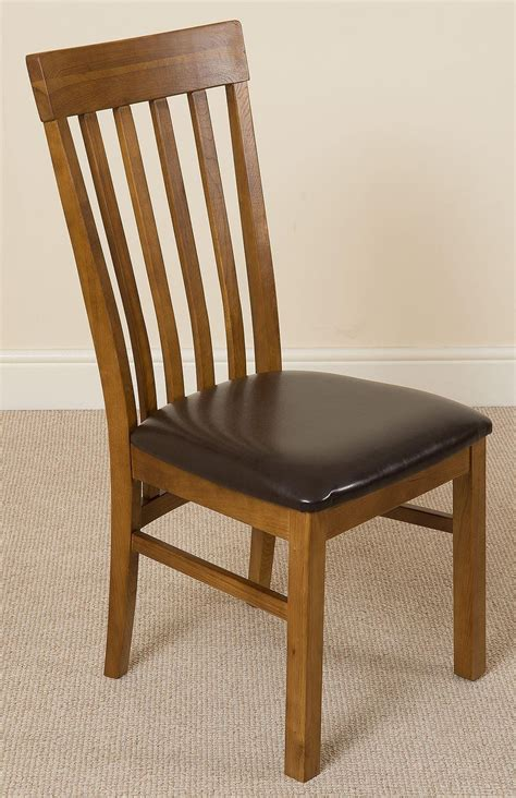 oak and leather dining chairs harvard dining room chair rustic oak and brown leather