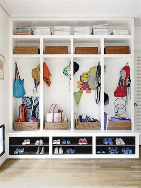 Back Of Door Shelving by Built In Back Door Storage Hgtv