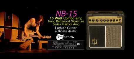 Randall Guitar Ilfier Nb 15 luthier guitar lifiers and accessories gt randall