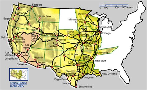 union pacific railroad map texas up u s guide to the union pacific