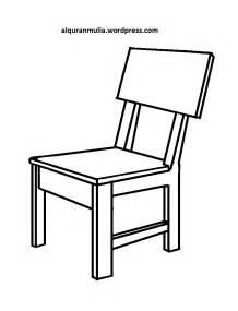 mewarnai gambar kursi anak muslim alqur anmulia