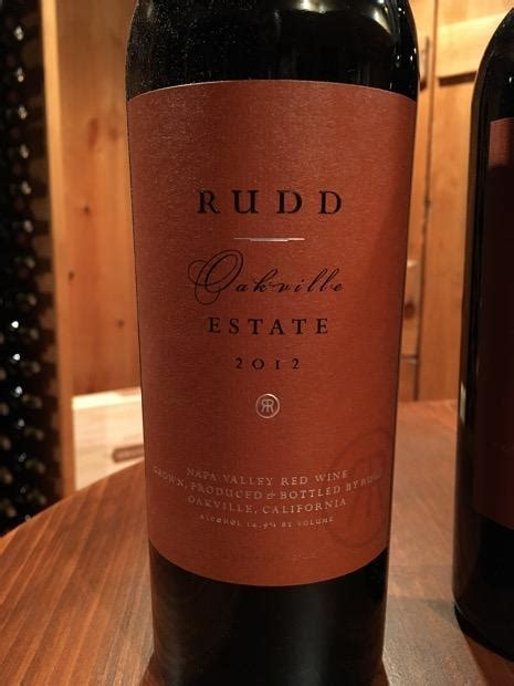2012 rudd oakville estate proprietary red usa california napa valley oakville cellartracker