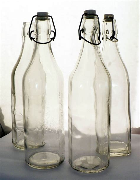 swing top glass bottle 1000ml swing top glass bottle
