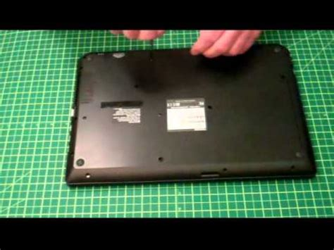 toshiba c55 b5299 battery removal youtube