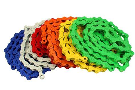 colored bike chains fixie bike chains single bikes