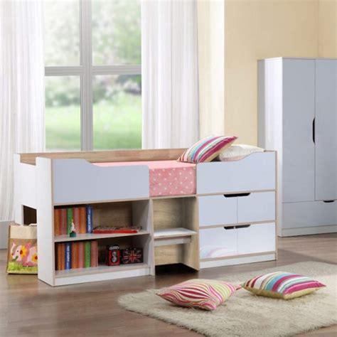 cabin beds birlea furniture paddington cabin bed in white and oak