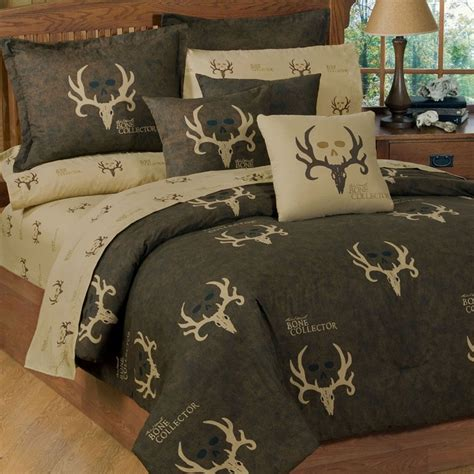 rustic bedding sets bone collector comforter sets kimlor mills rustic bedding