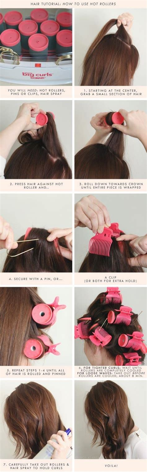 how to use hot rollers in layered shoulder length hair best 25 hot rollers hair ideas on pinterest hot rollers