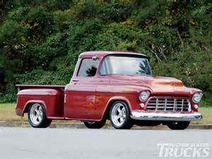 Chevrolet Employment 1956 Chevy Truck Custom Classic Trucks Magazine