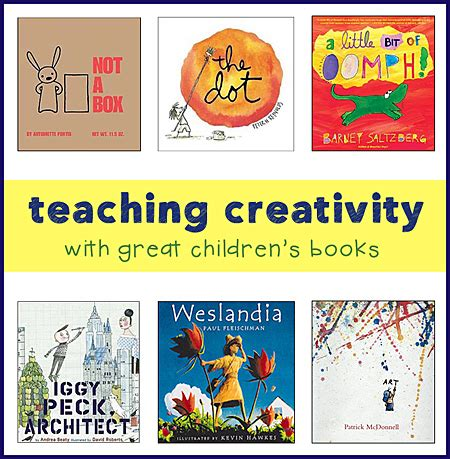 teaching picture books childrens books for teaching creativity and thinking