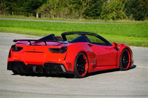 ferrari spider novitec reveal 760 hp ferrari 488 spider n largo