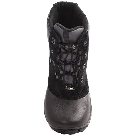 columbia sportswear rope tow ii winter boots for youth